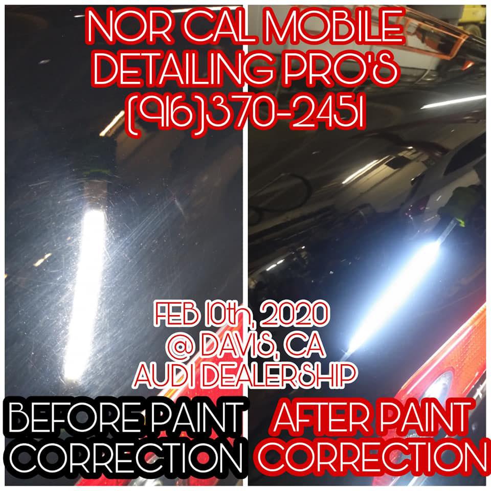 Car Detailing Paint Correction Sacramento