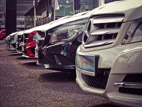 Nor-Cal Mobile Detailing Pro's Dealership Memberships Cars on a Auto Dealership lot